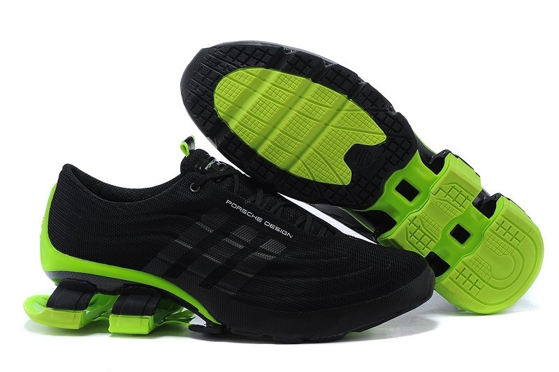 the latest 08640 1cda7 Adidas Porsche Design Bounce S4 (Black/Green) (004)