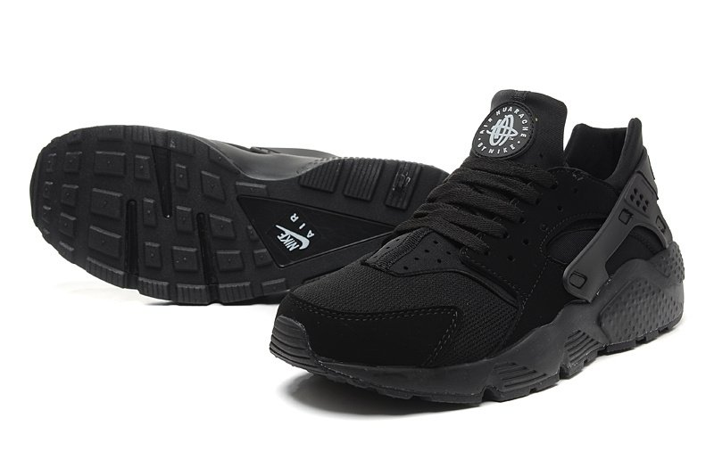 Nike Air Huarache (Triple Black) (003)