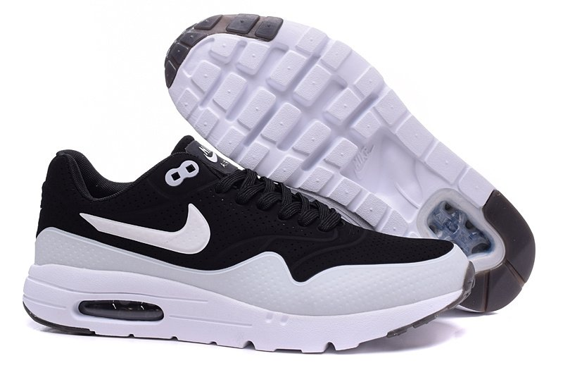 air max 87 white and black