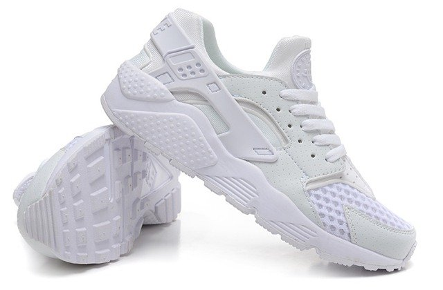 Nike Air Huarache Women (Platinum White) (001)