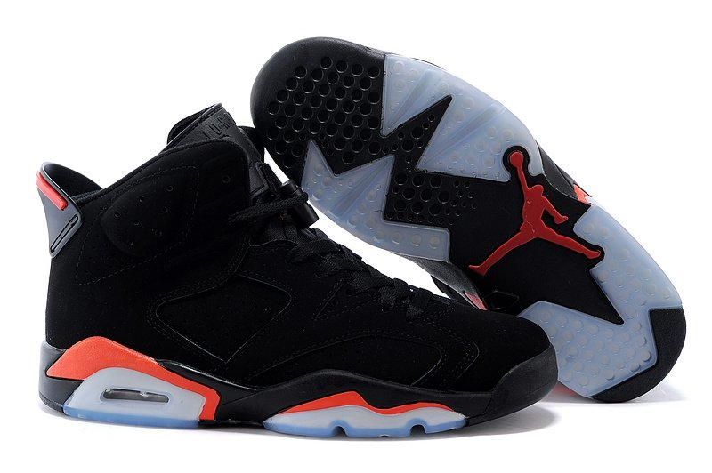 Nike Air Jordan 6 Retro Men (Black/Infrared 23-Black) (003)
