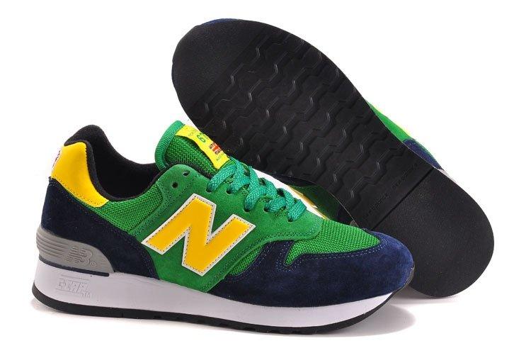 meet 96f5f bb40e New Balance 670 (Green/Yellow/Dark Blue) (005)