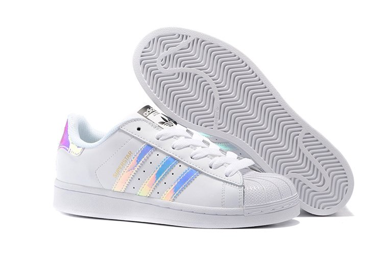 "Adidas Superstar ""Supercolor"" Жен (White/Hologram)(009)"