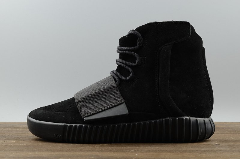 premium selection ed8a6 61a4a Adidas Yeezy 750 Boost By Kanye West Triple Black (021)