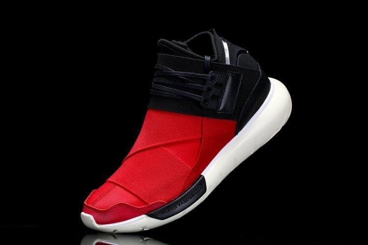 2b2dee10d77d Кроссовки Adidas Y-3 Qasa Racer High Men (Red Black) (012) купить в ...