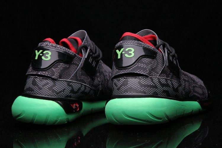 ea381f37e543 Кроссовки Adidas Y-3 Qasa Racer High Men (Black Snake) (011) купить ...