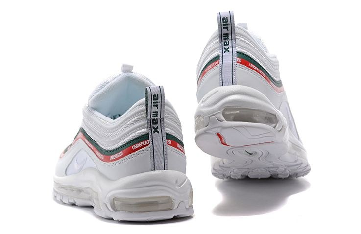 Undefeated x Nike Air Max 97 OG (White/Green/Speed Red) (008)