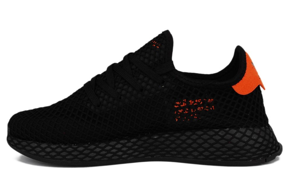 adidas deerupt black and orange cheap