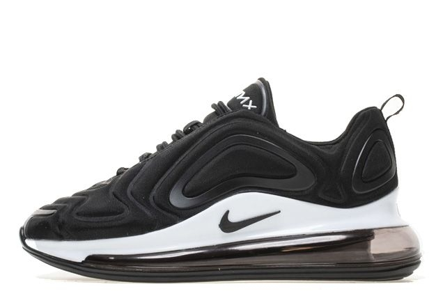 Кроссовки Nike Air Max 720 (Black/White) (002)