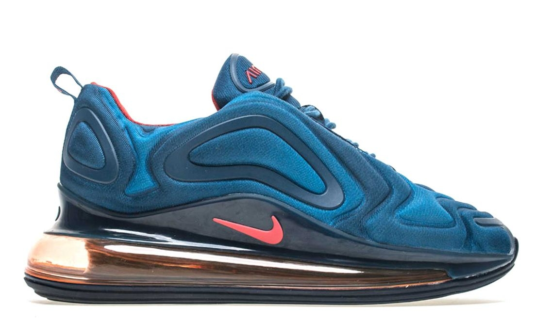 Кроссовки Nike Air Max 720 (Blue/Red) (010)