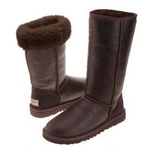 UGG Classic Tall leather Brown