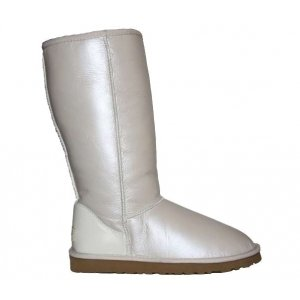 UGG Classic Tall leather White