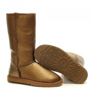 UGG Classic Tall leather Gold