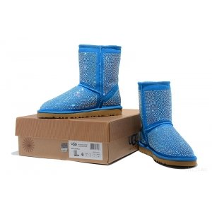 UGG Diamonds Boots Lighe Blue