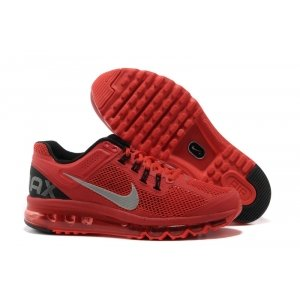 Nike Air Max 2013 Hyperfuse Men (red/silver/black)-(006)