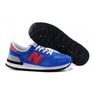 New Balance 990 (Blue/Red) (003)