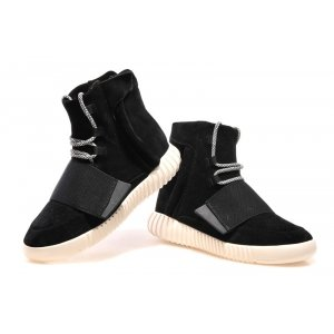 Adidas Yeezy 750 Boost By Kanye West Black and White (008)