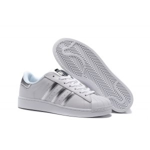 Adidas Superstar (White/silver) (006)
