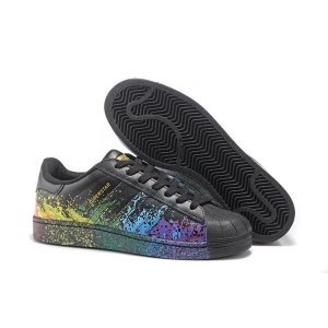 "Adidas Superstar ""Pride Pack"" (Black/Black) (002)"