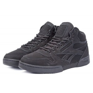 Reebok Classic With Fur (Triple Black) (023)