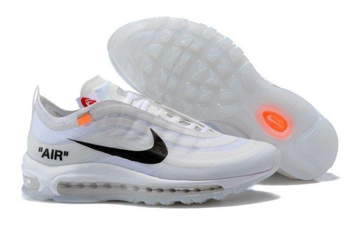 b31f1f3bace3 Кроссовки Nike x OFF WHITE Air Max 97 (White) (015) купить в Москве ...