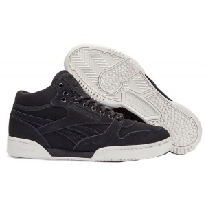 Reebok Classic With Fur (Black/White) (022)