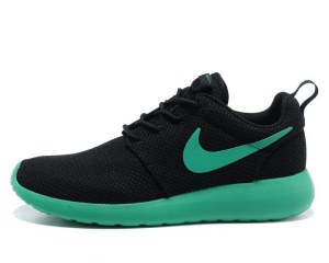 Nike Roshe Run Men (Black/Green) - (026)