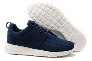 Nike Roshe Run (Blue/White/Black) - (021)