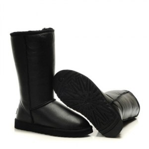 UGG Classic Tall leather Black