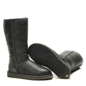UGG Classic Tall leather Gray