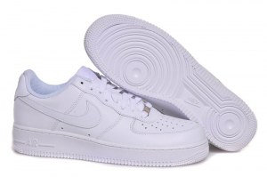 Nike Air Force 1 Mid '07 Low Men (all white) - (003)