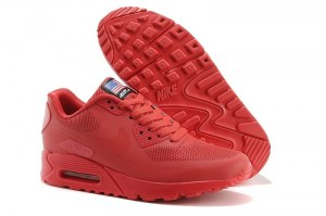 Nike Air Max 90 Hyperfuse (Red) - (018)