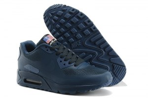 Nike Air Max 90 Hyperfuse (Dark Blue) - (019)