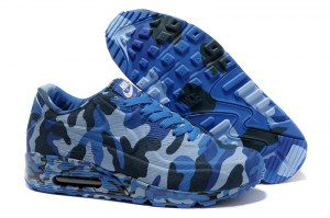 Nike Air Max 90 VT Military Women (Camouflage Blue) (010)