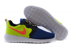 Nike Roshe Run Hyperfuse QS Men (green-Blue ) - (012)