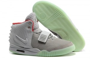 Nike Air Yeezy 2 by Kenye West (Grey) - (007)