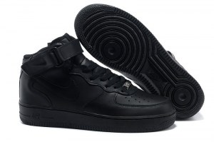 Nike Air Force 1 Mid '07 High Women (all black)
