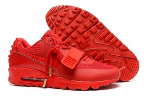 Nike Air Yeezy 2 SP Max 90 Men (Red) - (001)