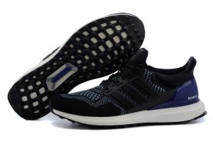 Adidas Ultra Boost Men (Core Black/Blue) (008)