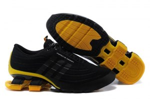 Adidas Porsche Design Bounce S4 (Black/Yellow) (005)
