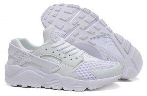 Nike Air Huarache (Platinum White) (002)