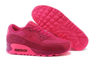 Nike Air Max 90 Premium Women (Fire Berry/Pink Pow) (035)