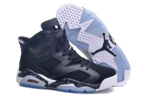 Nike Air Jordan 6 Retro Men (Dark blue/White) (006)