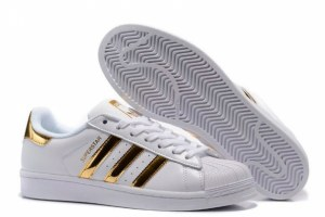 Adidas Superstar (Vintage White/Gold) (014)