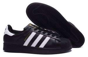 Adidas Superstar (Core Black/ White) (015)