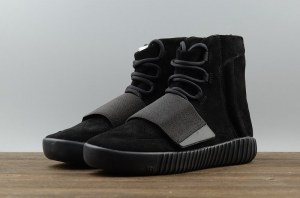 Adidas Yeezy 750 Boost By Kanye West Triple Black (021)