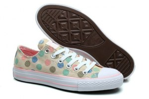 КЕДЫ CONVERSE CHUCK TAYLOR ALL STAR LOW MULTI COLOR POLKA (002)