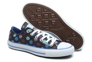 КЕДЫ CONVERSE CHUCK TAYLOR ALL STAR LOW MULTI COLOR POLKA (010)