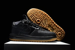 Nike Lunar Force 1 Duckboot Черный (009)