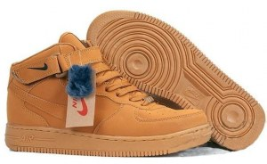 Nike Air Force 1 Mid (Brown) (099)